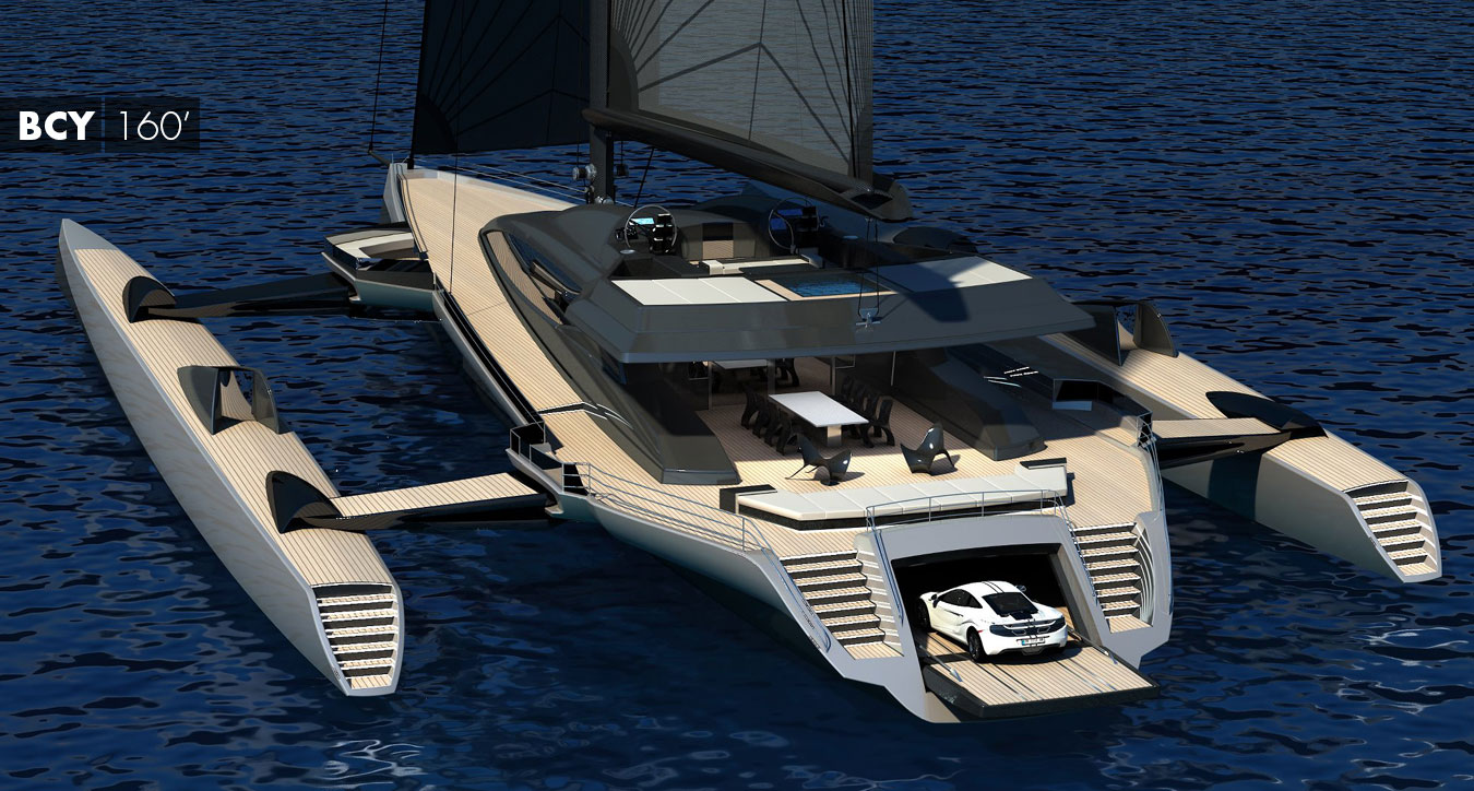 Blue Coast 160' Sailing Trimaran